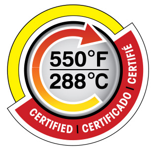 temperature certified cookina
